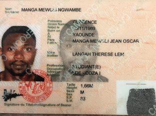 MANGA MEWOLI NGWAMBE CLARENCE