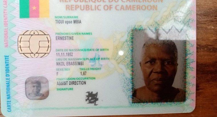 TIGUI EPOUSE MBIA ENESTINE