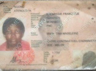 Mme. NGONO EUPHRASIE FRANÇOISE Epse ATEBGUENA.